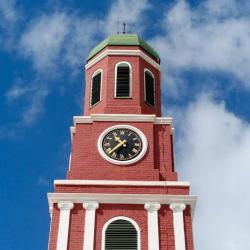 Clock Tower at the Barbados Garrison