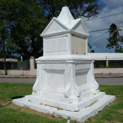 Monument at the Barbados Garrison